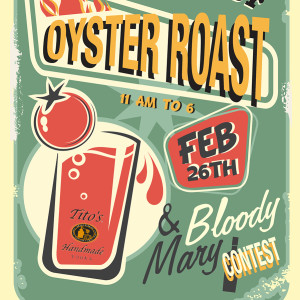 4th Annual Surfrider Annual Oyster Roast & Bloody Mary Contest!